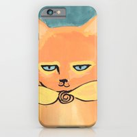 iPhone & iPod Case featuring Orange Cat by Katie O'Hagan