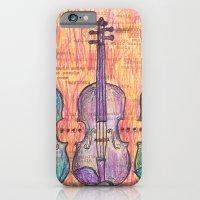 Violin, music to my ears iPhone 6 Slim Case