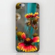 Fiery Flowers iPhone & iPod Skin