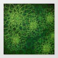 The Green Manalishi Canvas Print