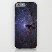 Black crow in moonlight iPhone 6 Slim Case
