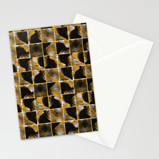 scribble (yellow) Stationery Cards