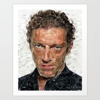 French Actor Art Print