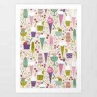 Summer Delights  Art Print
