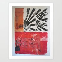 POP CURVE Art Print