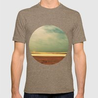 Salt Water Story Mens Fitted Tee Tri-Coffee SMALL