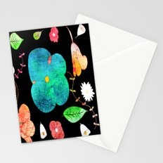 Japaneses midnight garden Stationery Cards