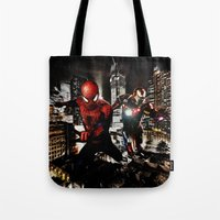 Dynamic Duo Tote Bag