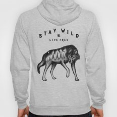 STAY WILD & LIVE FREE Hoody