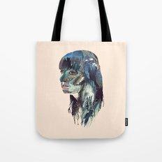 Water Head Tote Bag