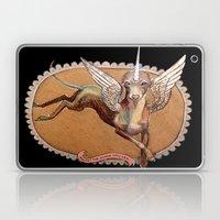 Kermit the Silver Unicorn Laptop & iPad Skin