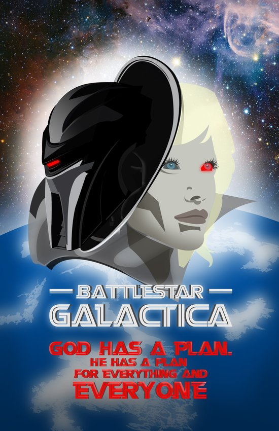 Battlestar Galactica Art Print