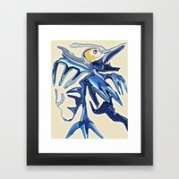 The Halcyon Framed Art Print