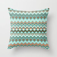 Aztec Throw Pillow