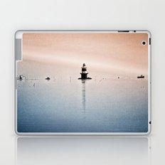Fishing Near The Lighthouse Laptop & iPad Skin