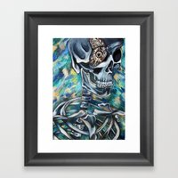 Butterfly Eye Framed Art Print