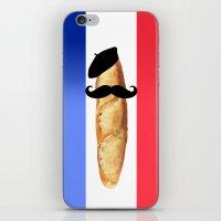 Monsieur Baguette iPhone & iPod Skin