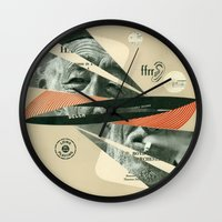 Smoke Symphony Wall Clock