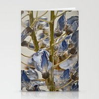 iced wisteria Stationery Cards