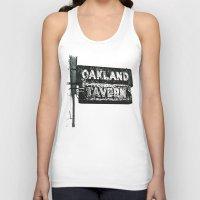 Old Tavern Sign Unisex Tank Top