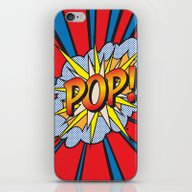 POP Art Exclamation iPhone & iPod Skin