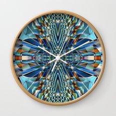 Abstract X Six Wall Clock