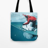 Staying Afloat Tote Bag