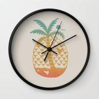 Sweet Summer Dream Wall Clock