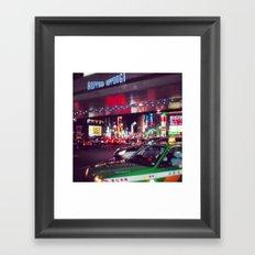 Downtown Roppongi  Framed Art Print
