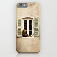 iPhone & iPod Case featuring Window with Shutters and Teapot by Around the Island (Robin Epstein)