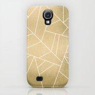 Minimal Gold Galaxy S4 Slim Case