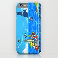 iPhone Cases featuring The Legend of Zelda: Wind Waker Advance by Dean Bottino
