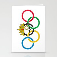 lord of the rings Stationery Cards featuring Lord of the Rings by Out of the Dust Designs