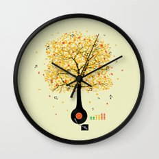 Sounds of Nature Wall Clock