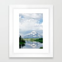 MORNING GRAND Framed Art Print
