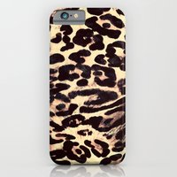 iPhone & iPod Case featuring Leopard Print by Charlene McCoy