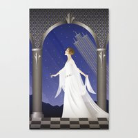 Deco Leia (12x18) Canvas Print