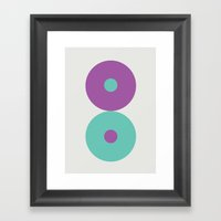 Shape series 2  Framed Art Print