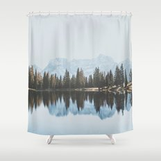 Italian Dolomites (landscape version) Shower Curtain