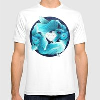 Underwater Guardians - F… Mens Fitted Tee White SMALL