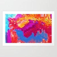 Hex II Art Print