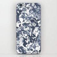 My Blue Butterflies iPhone & iPod Skin