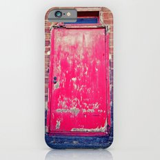 Red alley door iPhone 6 Slim Case