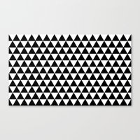Equilateral Triangles Canvas Print