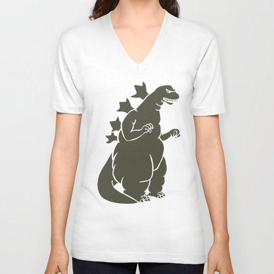 Godzilla - King of the Monsters V-neck T-shirt