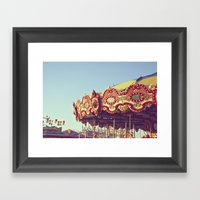 Carnival Fun Framed Art Print