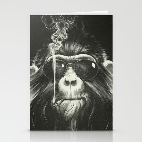 Smoke 'Em If You Got 'Em Stationery Card