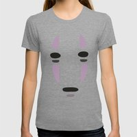 Spirited Away Womens Fitted Tee Tri-Grey SMALL