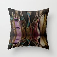 Abstract Jugs Throw Pillow