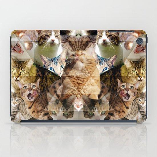 Cat Kaleidoscope iPad Case